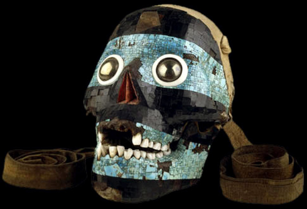 Tezcatlipoca Mask Artifact F Remembering The Aztzecs